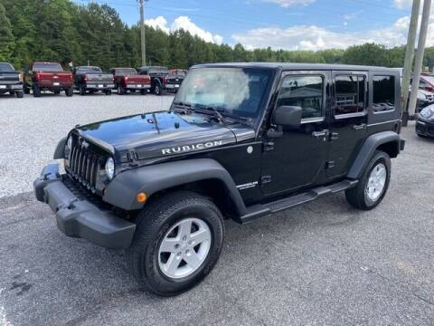 2010 Jeep Wrangler Unlimited for sale at Billy Ballew Motorsports in Dawsonville GA