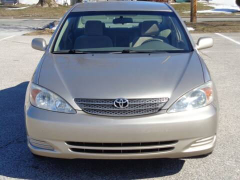 2002 Toyota Camry for sale at MAIN STREET MOTORS in Norristown PA