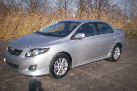 2010 Toyota Corolla for sale at Action Auto Wholesale - 30521 Euclid Ave. in Willowick OH