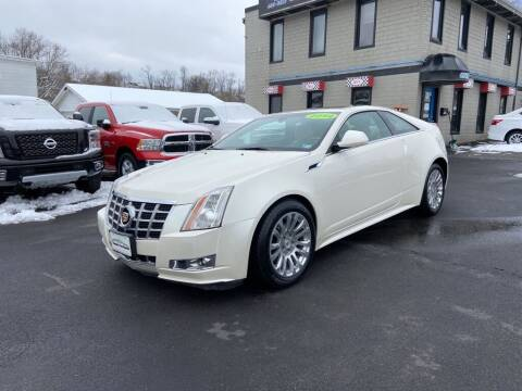 2014 Cadillac CTS for sale at Sisson Pre-Owned in Uniontown PA