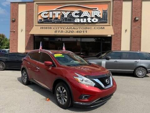 2017 Nissan Murano for sale at CITY CAR AUTO INC in Nashville TN