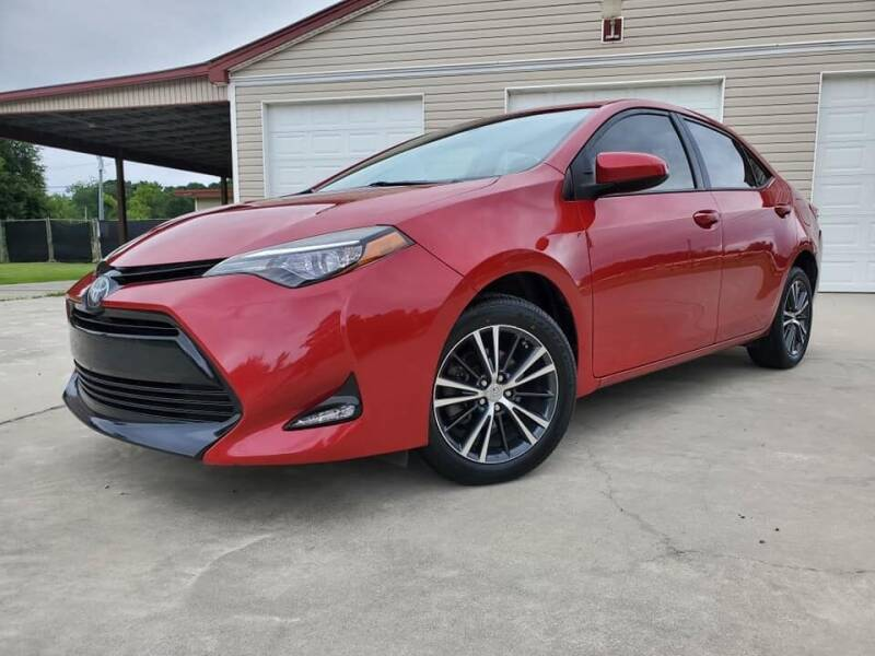 2017 Toyota Corolla for sale at Real Deals of Florence, LLC in Effingham SC