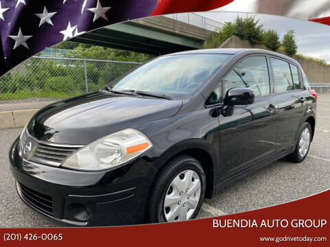 2009 Nissan Versa for sale at BUENDIA AUTO GROUP in Hasbrouck Heights NJ