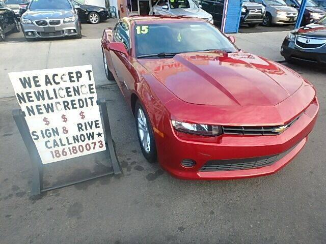 2015 Chevrolet Camaro for sale at 4530 Tip Top Car Dealer Inc in Bronx NY
