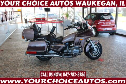 1986 Honda GL1200A Aspencade for sale at Your Choice Autos - Waukegan in Waukegan IL