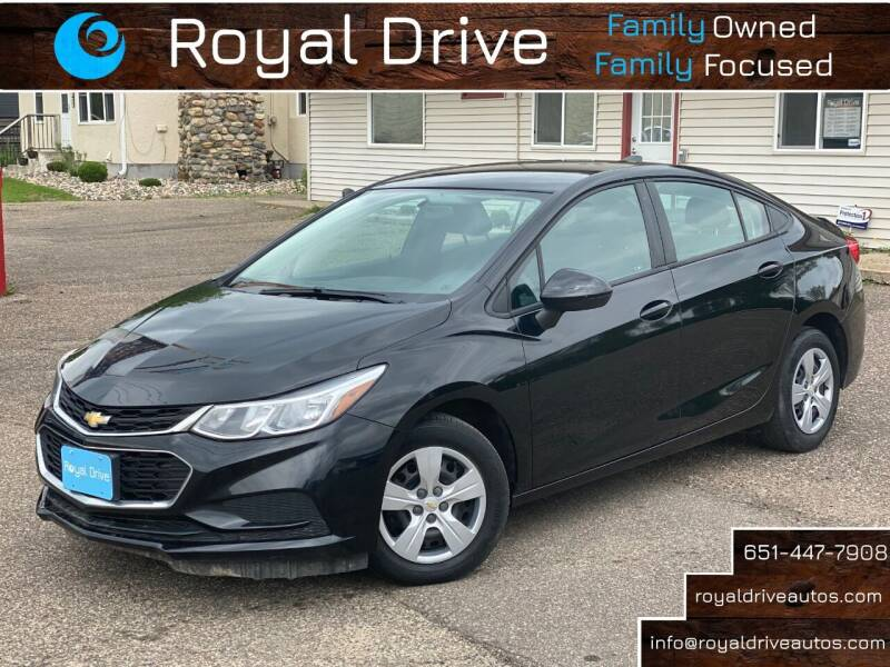 2017 Chevrolet Cruze for sale at Royal Drive in Newport MN