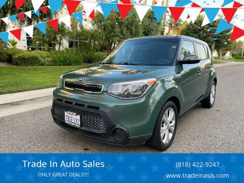 2014 Kia Soul for sale at Trade In Auto Sales in Van Nuys CA