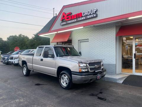 2004 Chevrolet Silverado 1500 for sale at AG AUTOGROUP in Vineland NJ