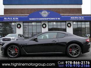 2012 Maserati GranTurismo for sale at Highline Group Motorsports in Lowell MA