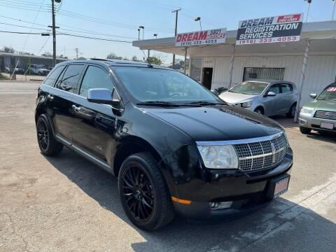 2009 Lincoln MKX for sale at Dream Motors in Sacramento CA