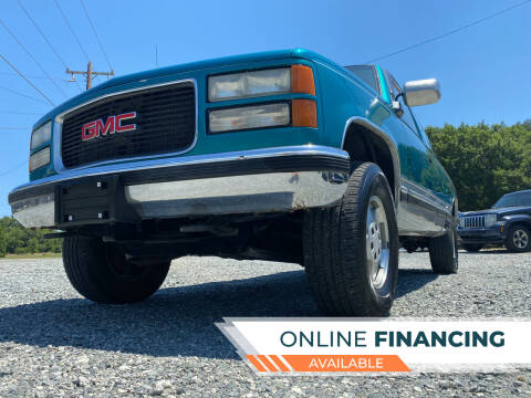 1994 GMC Sierra 1500 for sale at Prime One Inc in Walkertown NC
