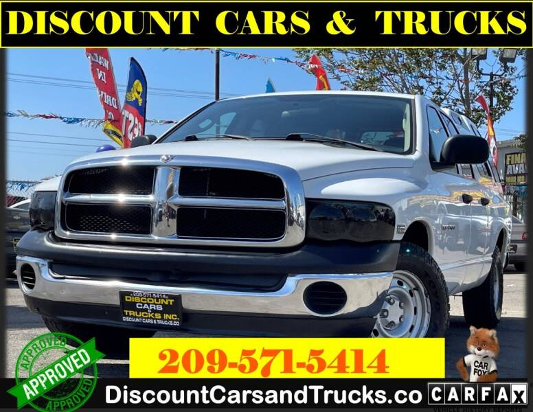 2005 Dodge Ram Pickup 1500 for sale at Discount Cars & Trucks in Modesto CA