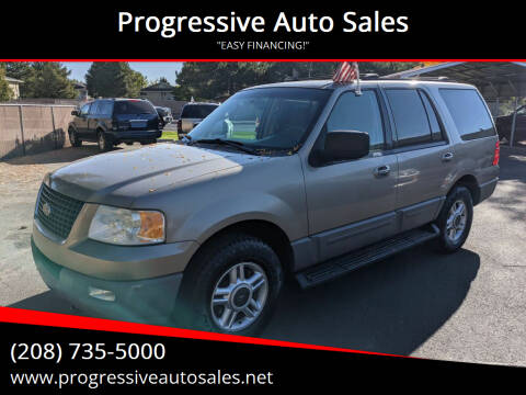 2003 Ford Expedition for sale at Progressive Auto Sales in Twin Falls ID