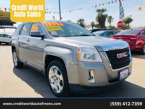2012 GMC Terrain for sale at Credit World Auto Sales in Fresno CA