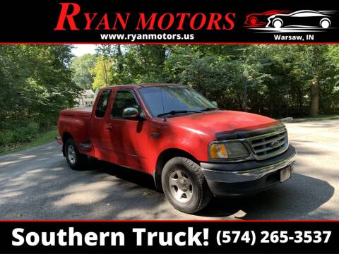 1999 Ford F-150 for sale at Ryan Motors LLC in Warsaw IN