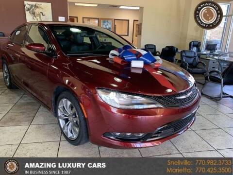 2015 Chrysler 200 for sale at Amazing Luxury Cars in Snellville GA