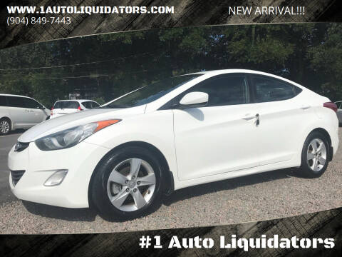 2013 Hyundai Elantra for sale at #1 Auto Liquidators in Yulee FL