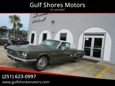 1966 Ford Thunderbird for sale at Gulf Shores Motors in Gulf Shores AL