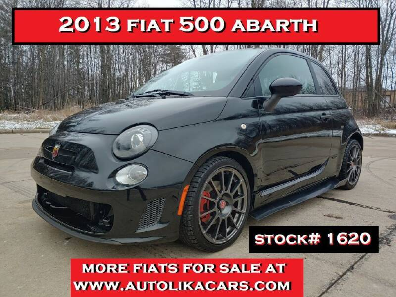 2013 FIAT 500 for sale at Autolika Cars LLC in North Royalton OH