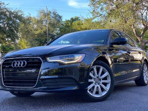 2014 Audi A6 for sale at HIGH PERFORMANCE MOTORS in Hollywood FL