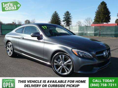 2017 Mercedes-Benz C-Class for sale at Shamrock Motors in East Windsor CT