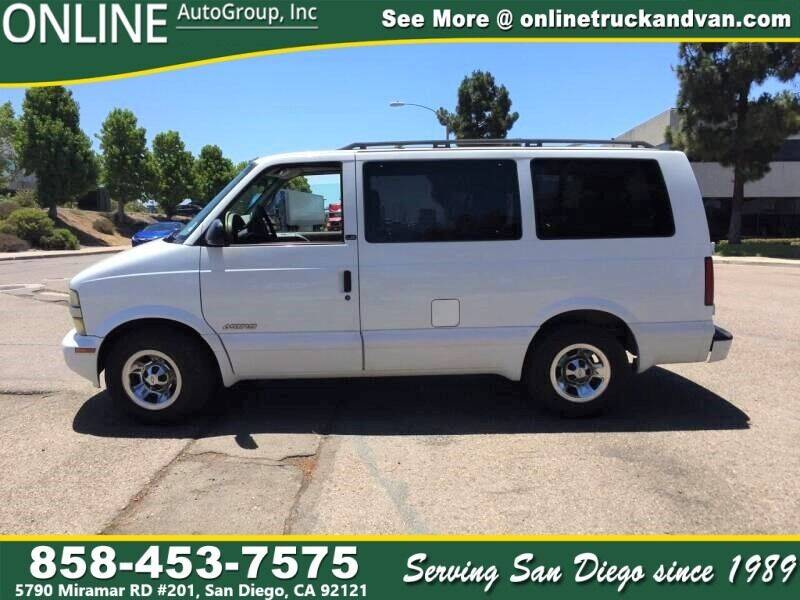 2002 Chevrolet Astro for sale in San Diego, CA
