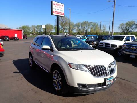 2013 Lincoln MKX for sale at Marty's Auto Sales in Savage MN