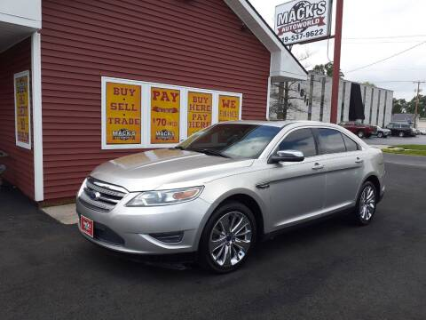 2010 Ford Taurus for sale at Mack's Autoworld in Toledo OH