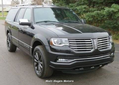 2015 Lincoln Navigator L for sale at Matt Hagen Motors in Newport NC