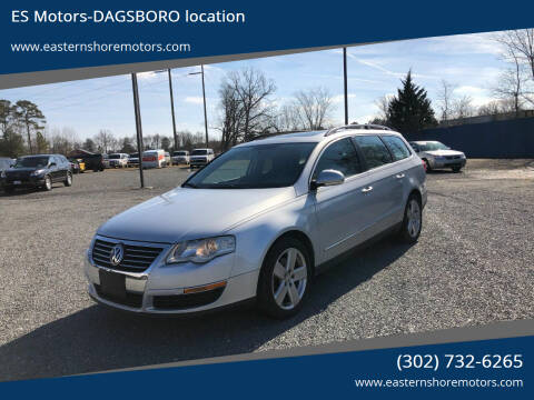 2008 Volkswagen Passat for sale at ES Motors-DAGSBORO location in Dagsboro DE