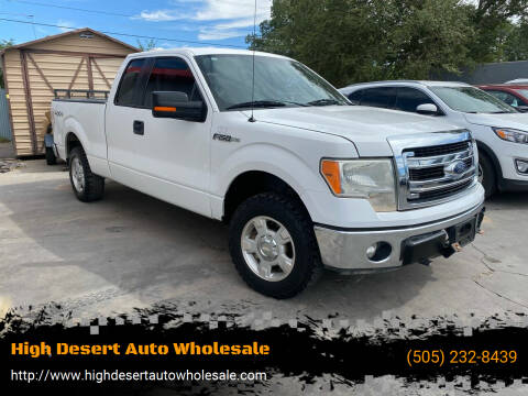 2013 Ford F-150 for sale at High Desert Auto Wholesale in Albuquerque NM