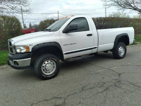 2005 Dodge Ram Pickup 2500 for sale at Jan Auto Sales LLC in Parsippany NJ