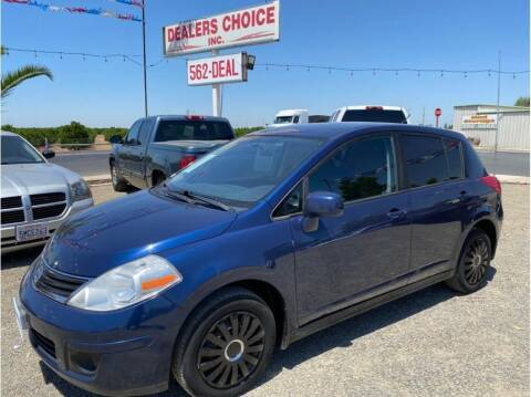 2012 Nissan Versa for sale at Dealers Choice Inc in Farmersville CA