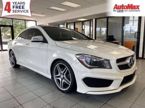 2015 Mercedes-Benz CLA for sale at Auto Max in Hollywood FL