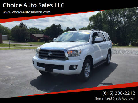 2015 Toyota Sequoia for sale at Choice Auto Sales LLC - Cash Inventory in White House TN