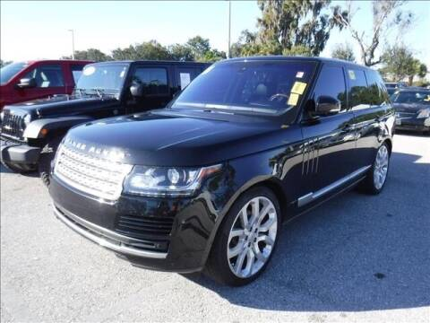 2016 Land Rover Range Rover for sale at LUXURY IMPORTS AUTO SALES INC in North Branch MN