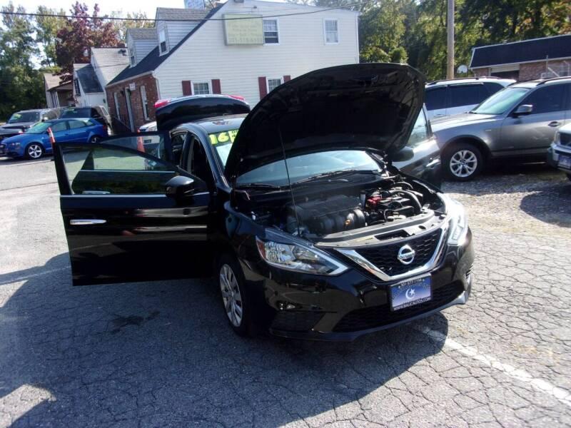 2016 Nissan Sentra S 4dr Sedan CVT - Lanham MD