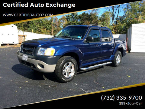 2005 Ford Explorer Sport Trac for sale at Certified Auto Exchange in Keyport NJ