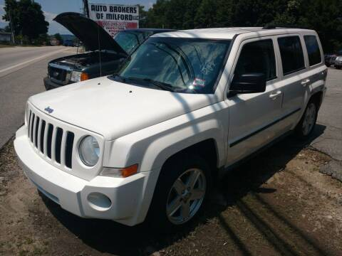 2010 Jeep Patriot for sale at Auto Brokers of Milford in Milford NH