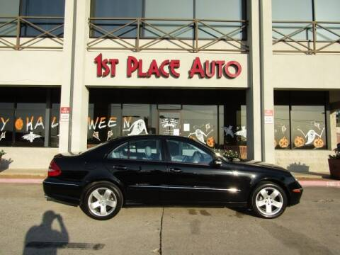 2004 Mercedes-Benz E-Class for sale at First Place Auto Ctr Inc in Watauga TX