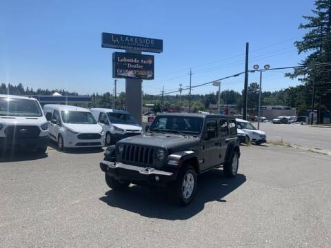 2021 Jeep Wrangler Unlimited for sale at Lakeside Auto in Lynnwood WA