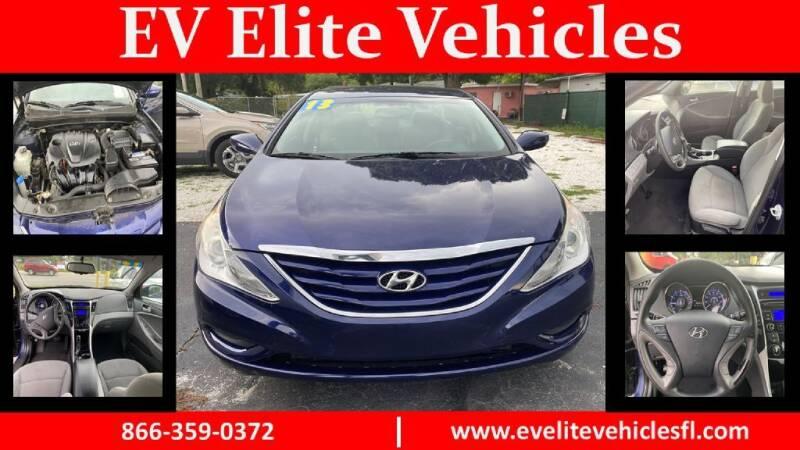 2013 Hyundai Sonata for sale at EV ELITE VEHICLES in Saint Petersburg FL