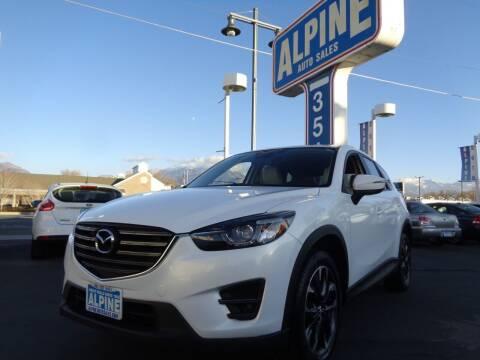 2016 Mazda CX-5 for sale at Alpine Auto Sales in Salt Lake City UT