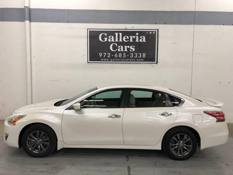 2015 Nissan Altima for sale at Galleria Cars in Dallas TX