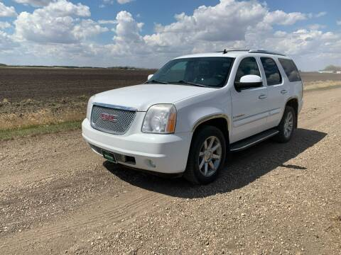 2008 GMC Yukon for sale at HALVORSON AUTO in Cooperstown ND