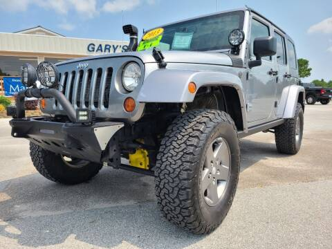 2013 Jeep Wrangler Unlimited for sale at Gary's Auto Sales in Sneads Ferry NC