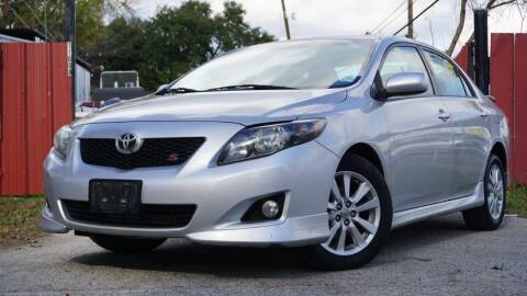 2010 Toyota Corolla for sale at Hidalgo Motors Co in Houston TX