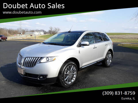 2015 Lincoln MKX for sale at Doubet Auto Sales in Eureka IL