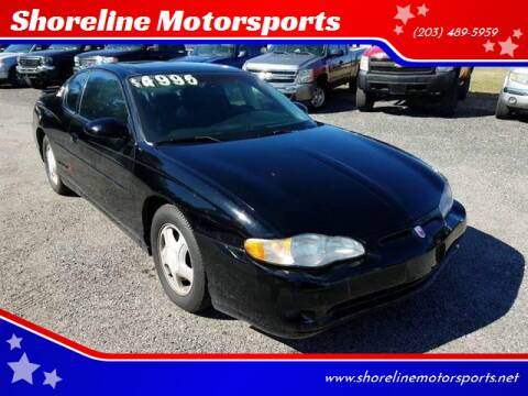 2003 Chevrolet Monte Carlo for sale at Shoreline Motorsports in Waterbury CT