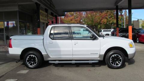 2001 Ford Explorer Sport Trac for sale at D & M Auto Sales in Corvallis OR